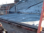 Old flat lead roof replacement from Harris Whitehorn.