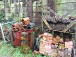 Yard stored tiles in the New Forest from Harris Whitehorn.